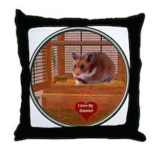 Hamster #2 Throw Pillow