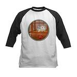 Hamster #3 Kids Baseball Jersey