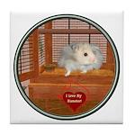 Hamster #3 Tile Coaster
