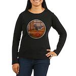Squirrel Women's Long Sleeve Dark T-Shirt