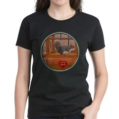 Squirrel Women's Dark T-Shirt