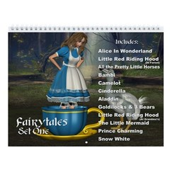 Fairytales Set 01 Wall Calendar