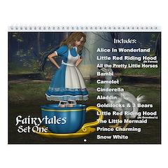 Fairytales Set 01 Wall Calendar