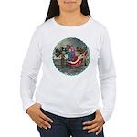 AKSC - Where's Santa? Women's Long Sleeve T-Shirt