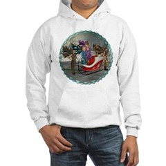 AKSC - Where's Santa? Hooded Sweatshirt