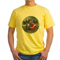 AKSC - Where's Santa? Yellow T-Shirt