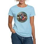 AKSC - Where's Santa? Women's Light T-Shirt