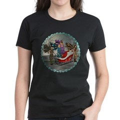 AKSC - Where's Santa? Women's Dark T-Shirt