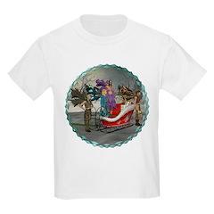 AKSC - Where's Santa? Kids Light T-Shirt