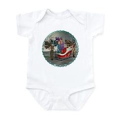 AKSC - Where's Santa? Infant Bodysuit