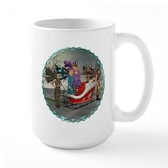 AKSC - Where's Santa? Large Mug