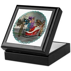 AKSC - Where's Santa? Keepsake Box