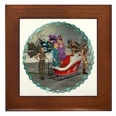 AKSC - Where's Santa? Framed Tile