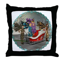 AKSC - Where's Santa? Throw Pillow