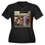 AKSC - Fairy Queen's Palace Women's Plus Size V-Ne