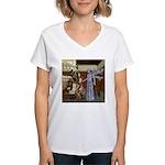AKSC - Fairy Queen's Palace Women's V-Neck T-Shirt