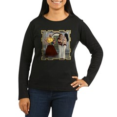Aladdin Women's Long Sleeve Dark T-Shirt