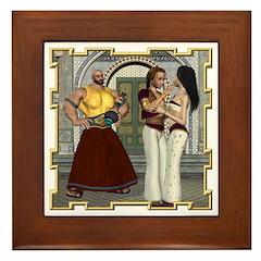 Aladdin Framed Tile