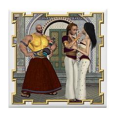 Aladdin Tile Coaster