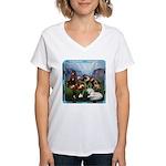 All the Pretty Little Horses Women's V-Neck T-Shir