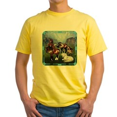 All the Pretty Little Horses Yellow T-Shirt