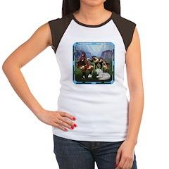 All the Pretty Little Horses Women's Cap Sleeve T-