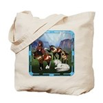 All the Pretty Little Horses Tote Bag