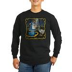 Alice in Wonderland Long Sleeve Dark T-Shirt