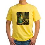 Alice in Wonderland Yellow T-Shirt