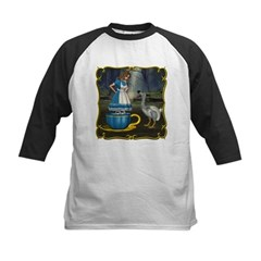 Alice in Wonderland Kids Baseball Jersey