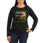 Black Sheep N Farmer Women's Long Sleeve Dark T-Sh