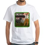 Black Sheep N Farmer White T-Shirt