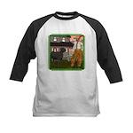 Black Sheep N Farmer Kids Baseball Jersey