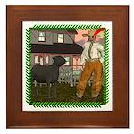 Black Sheep N Farmer Framed Tile