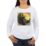 Black Sheep Thank You Women's Long Sleeve T-Shirt