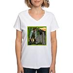 Black Sheep N Boy Women's V-Neck T-Shirt