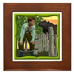 Black Sheep N Boy Framed Tile