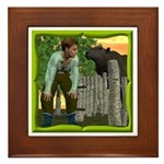 Black Sheep N Boy Framed Tile