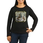 Bambi On Ice Women's Long Sleeve Dark T-Shirt