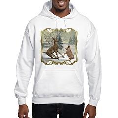 Bambi On Ice Hooded Sweatshirt
