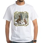 Bambi On Ice White T-Shirt