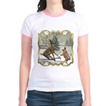 Bambi On Ice Jr. Ringer T-Shirt