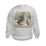 Bambi On Ice Kids Sweatshirt