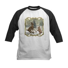 Bambi On Ice Kids Baseball Jersey
