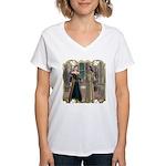 Camelot Women's V-Neck T-Shirt