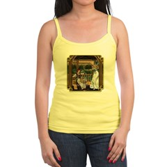 Cinderella & Godmother Jr. Spaghetti Tank