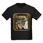 Cinderella & Godmother Kids Dark T-Shirt