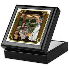 Cinderella & Godmother Keepsake Box