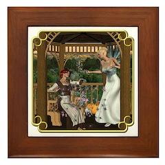Cinderella & Godmother Framed Tile