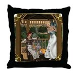 Cinderella & Godmother Throw Pillow